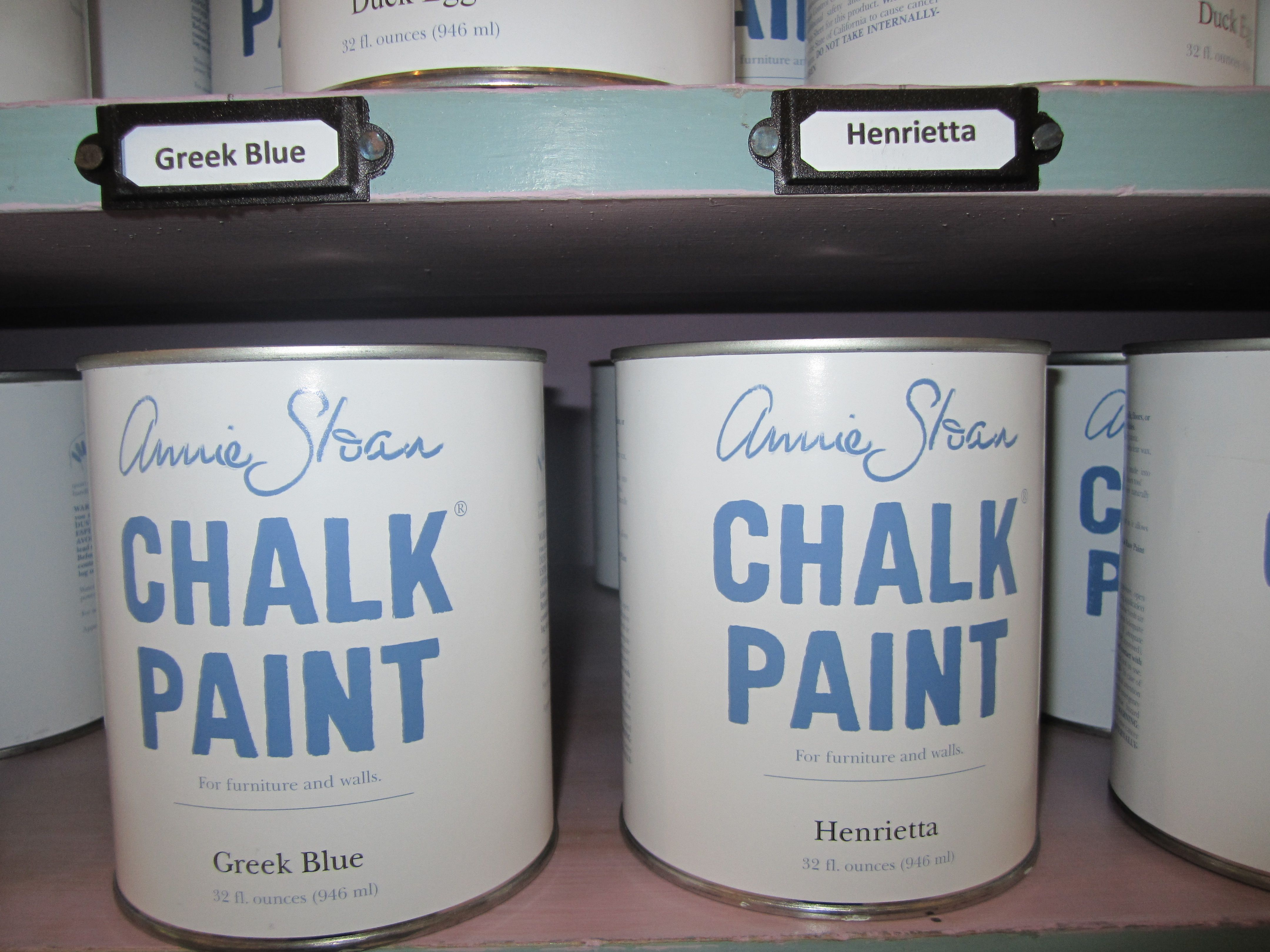 Chalk paint by annie sloan for Painting with chalk paint