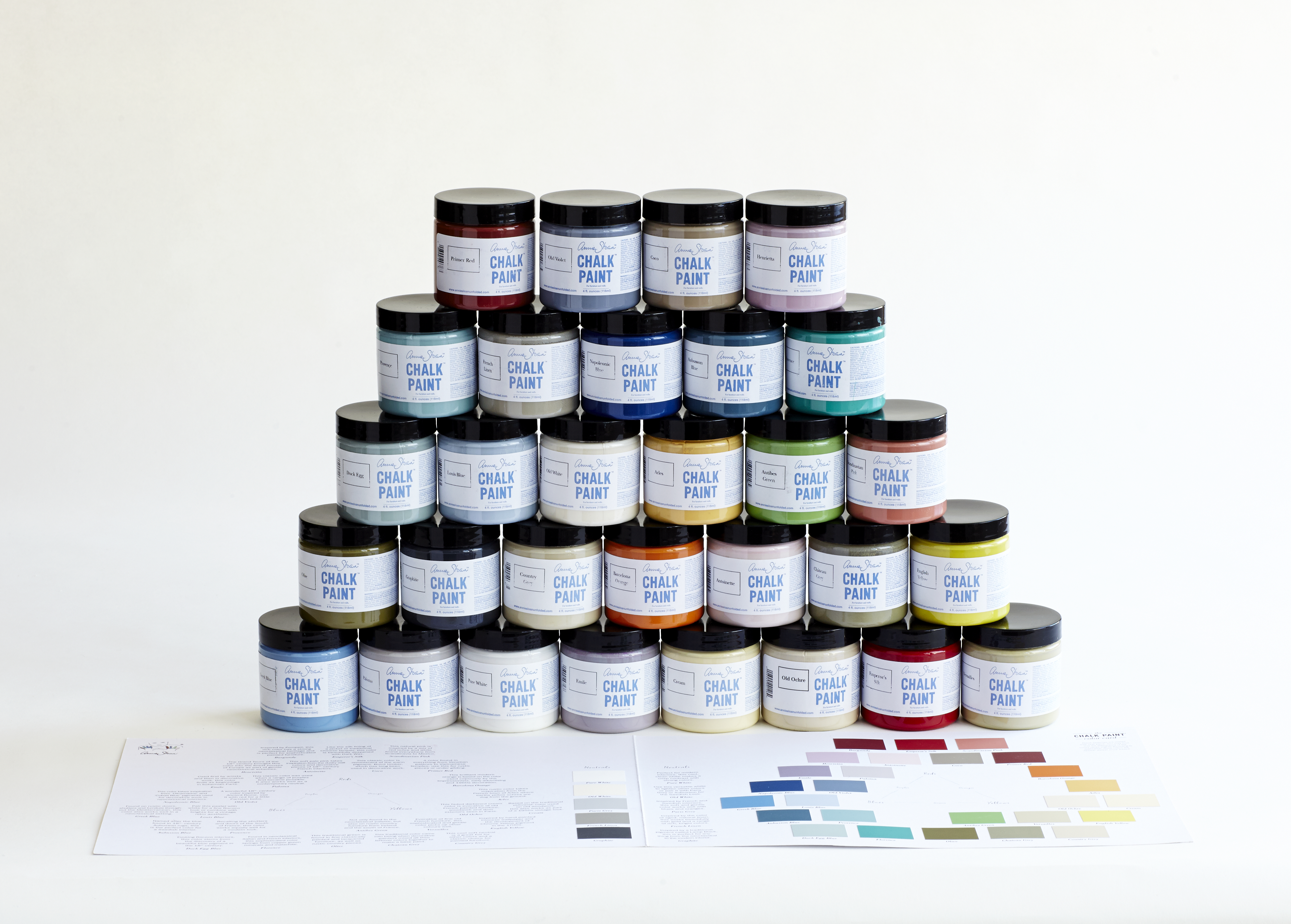 Annie Sloan Chalk Paint And WAX Samples Colors Paint Waxes - Paint tester online