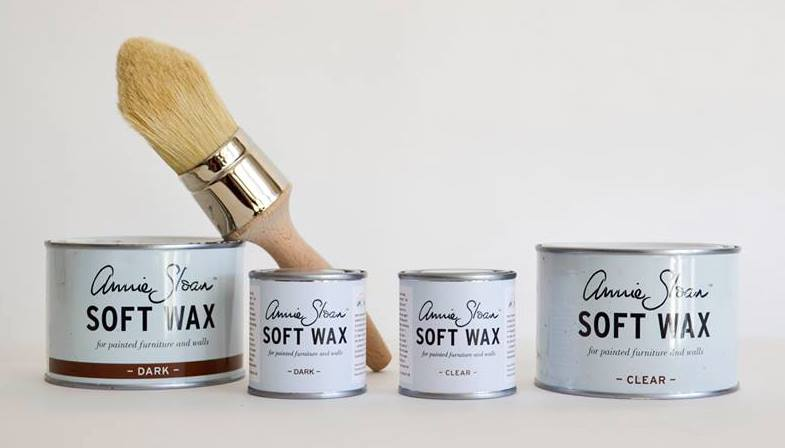 annie sloan wax sample