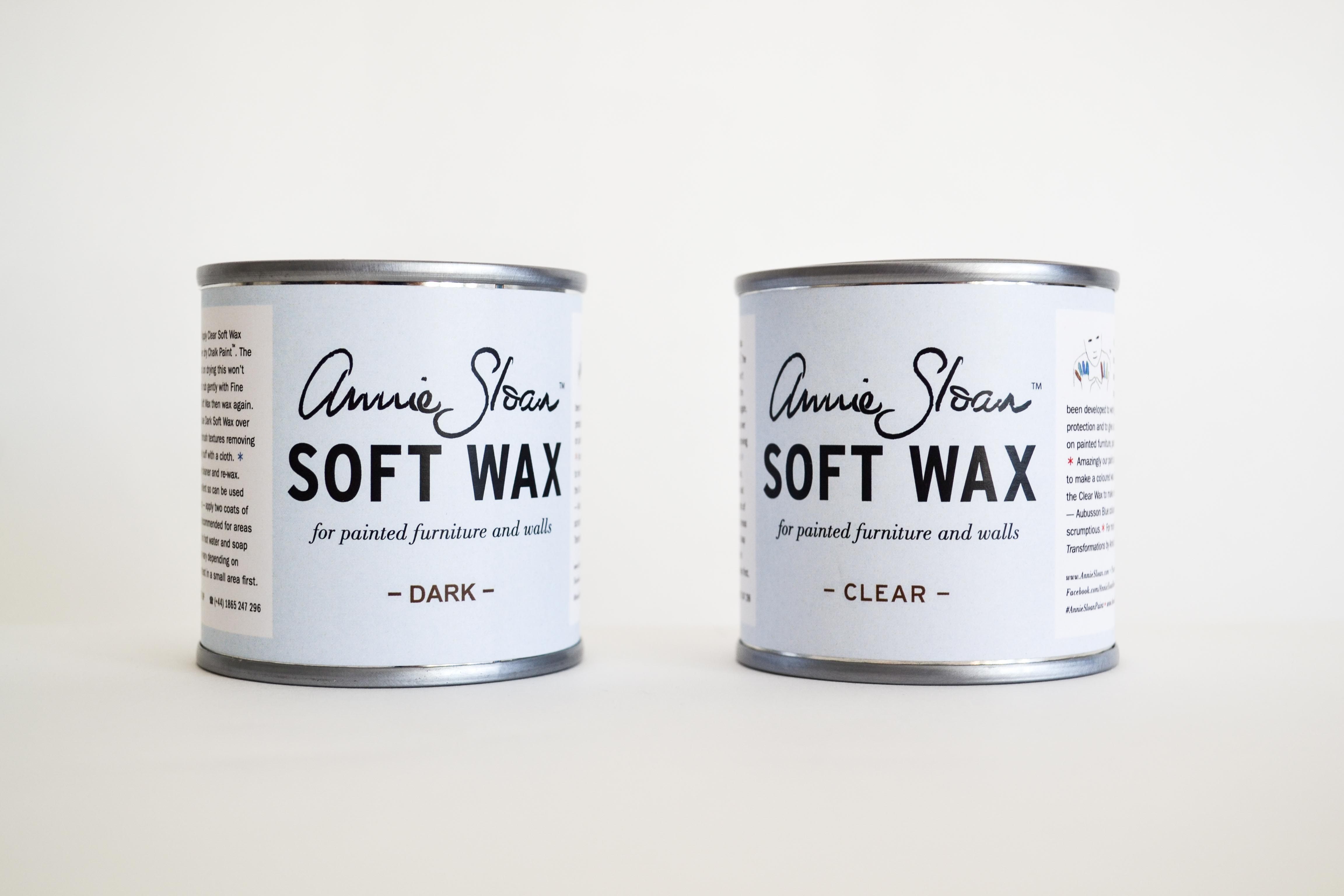 annie sloan wax samples