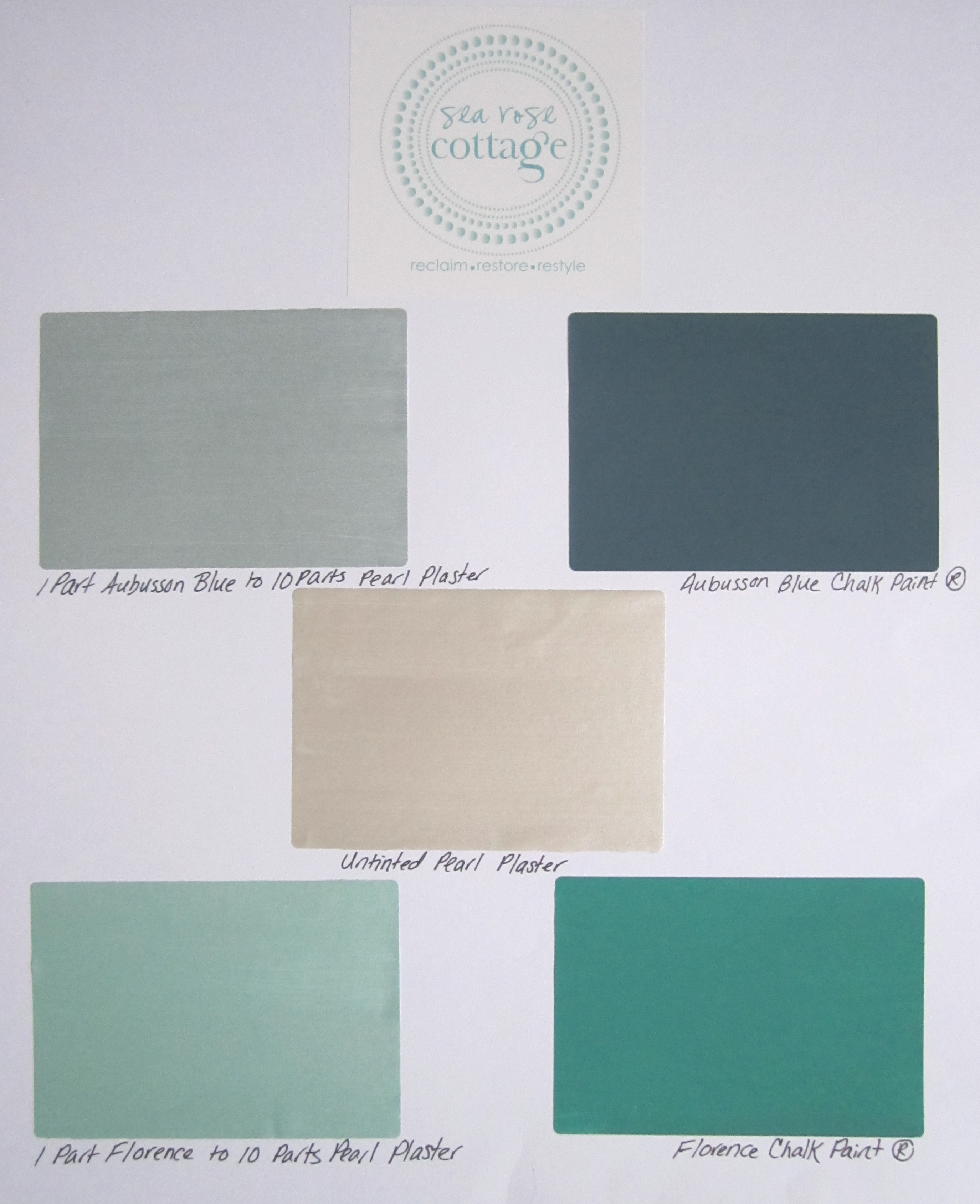 Plaster Paint Colors : How to tint pearl plaster with chalk paint tips