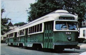 Trolley Postcard