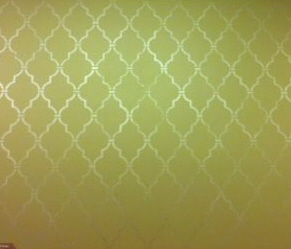 feature Wall pearl plaster