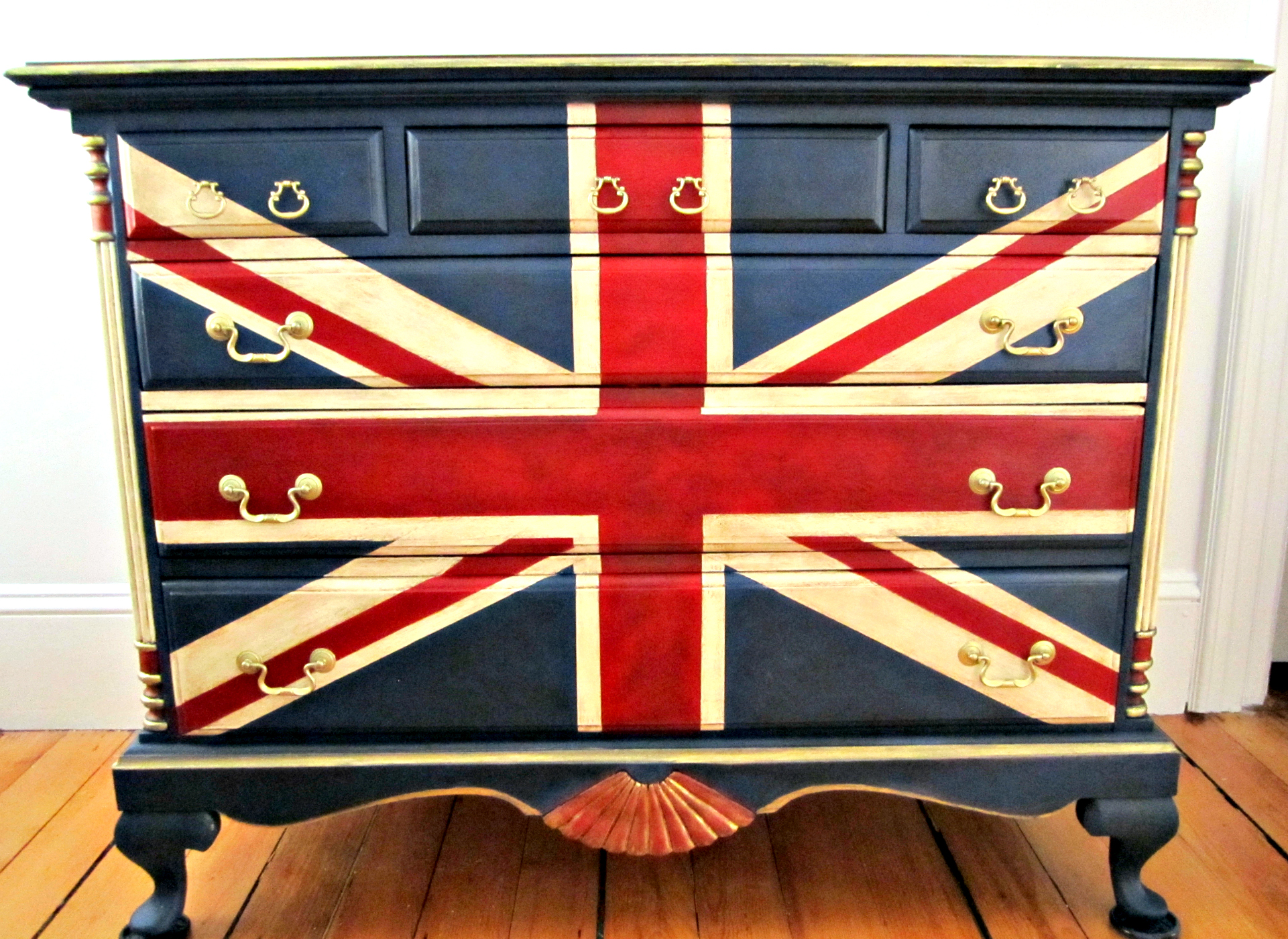 Union Flag Dresser plarge