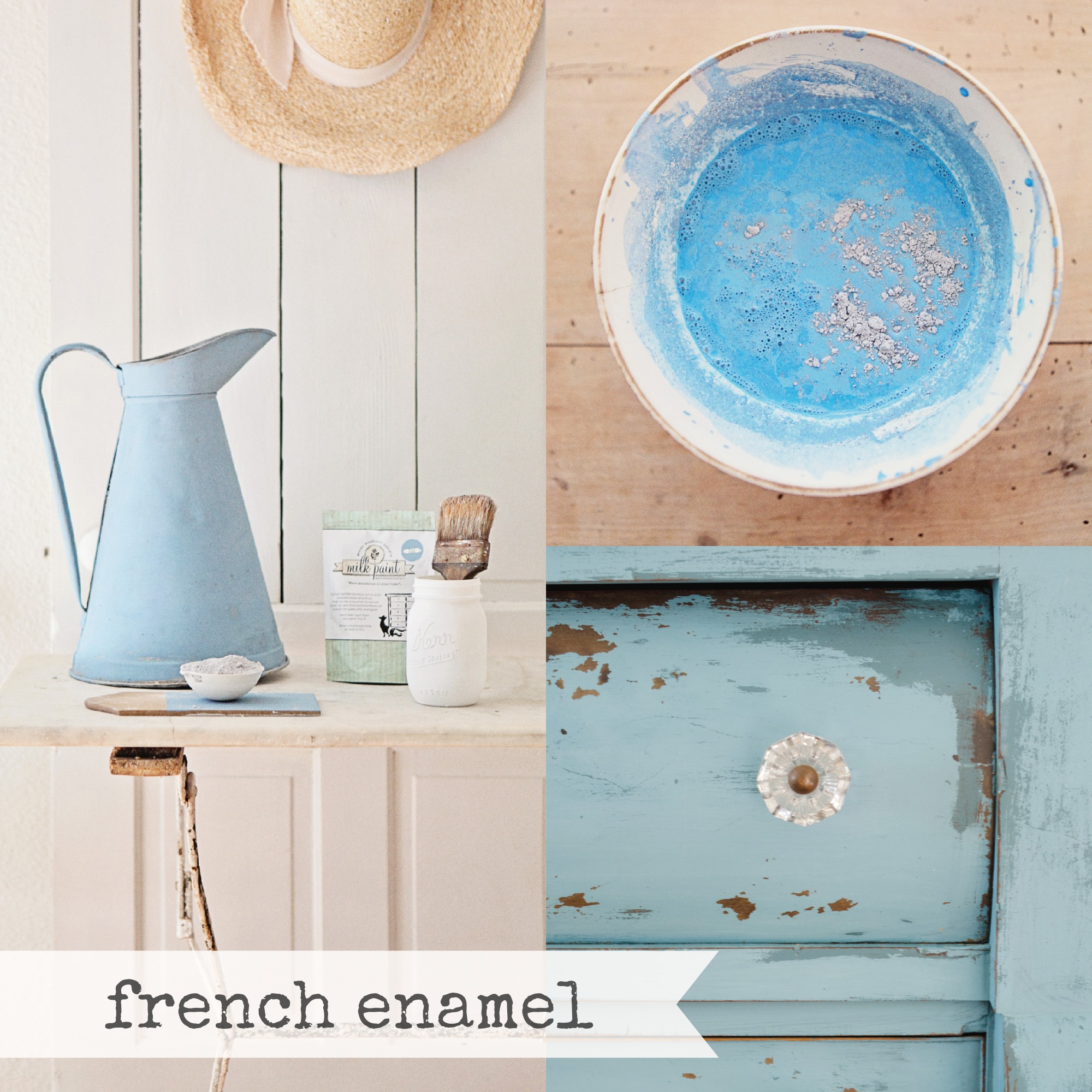 French-Enamel-Collage