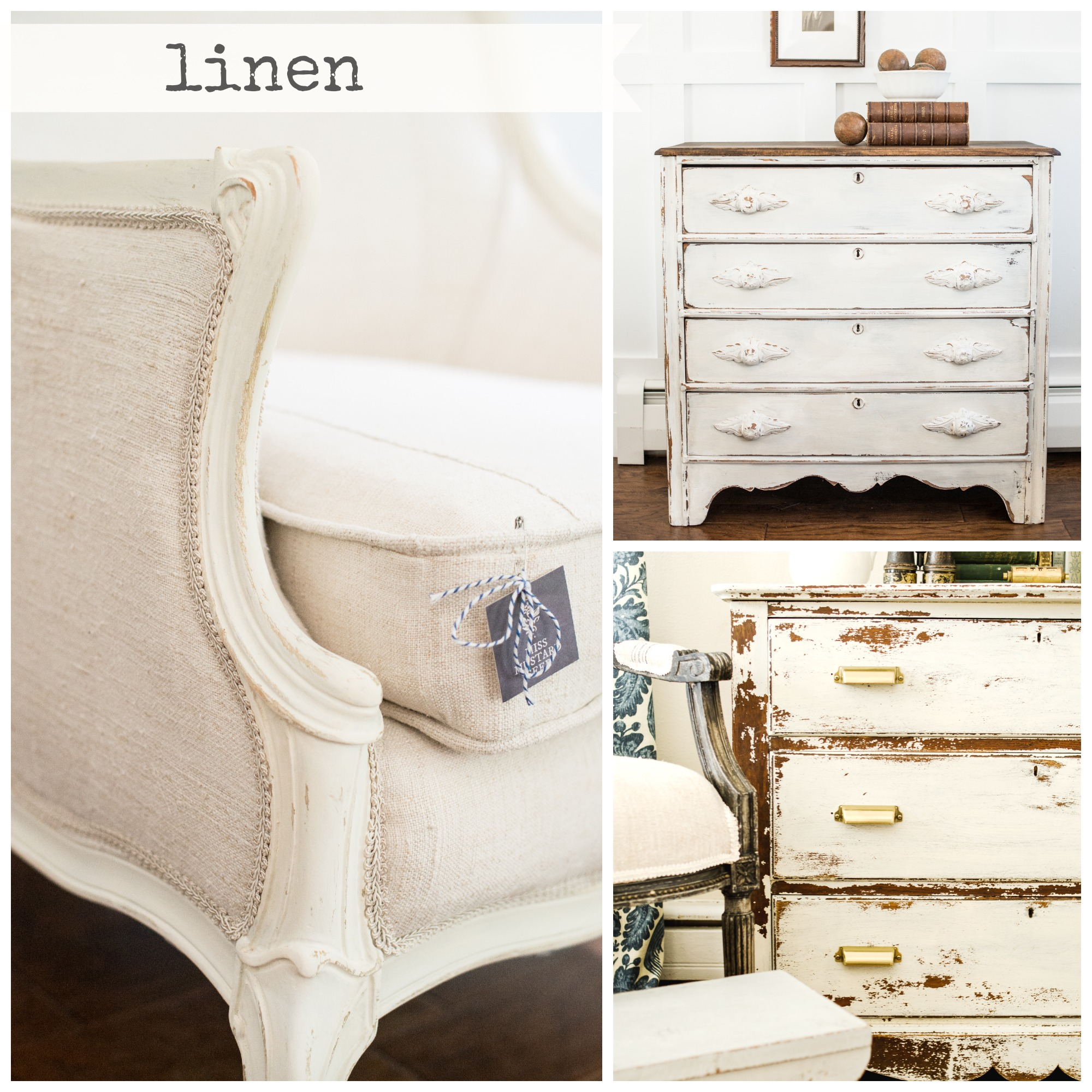 Shop miss mustard seed milk paint linen - Mustard seed interiors ...
