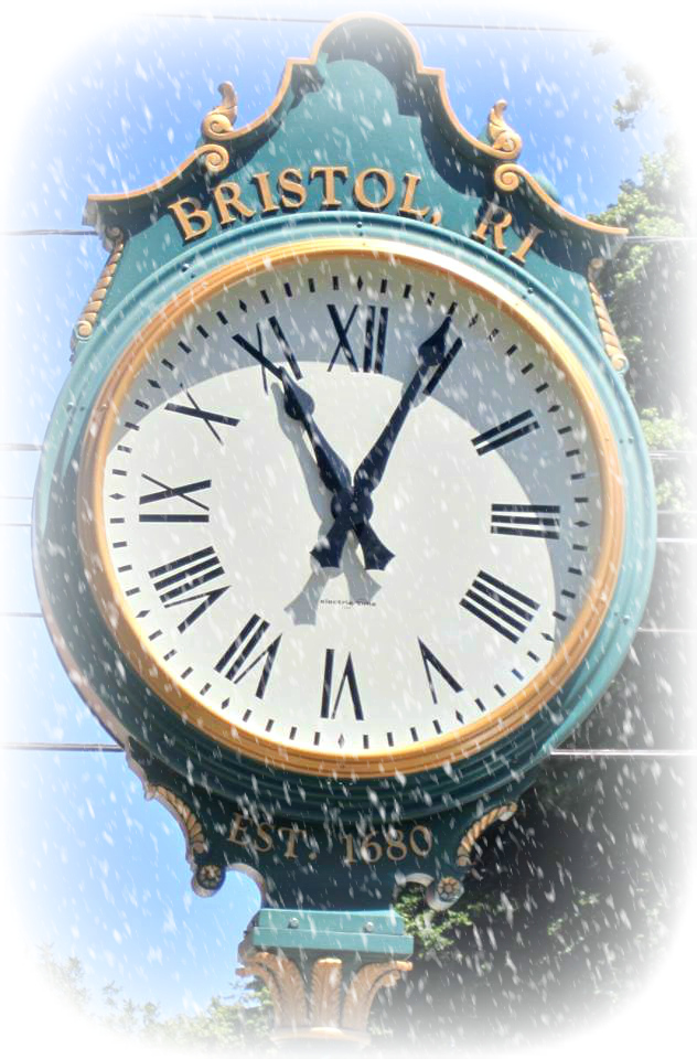 winter bristol clock